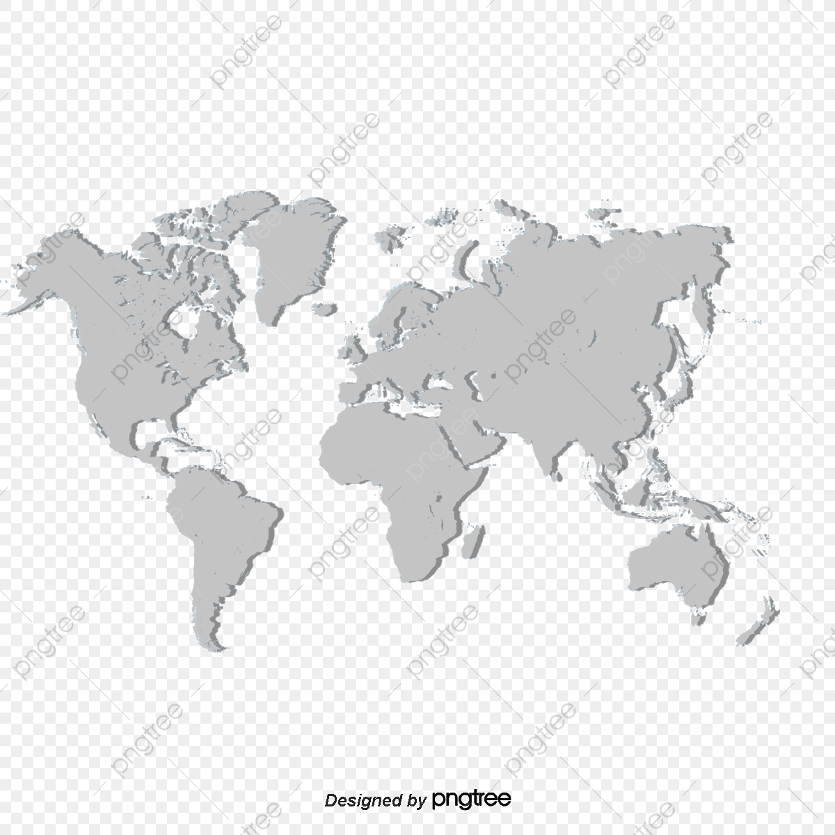 Beautiful World Map, World Clipart, Map Clipart PNG Transparent.