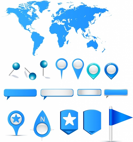 Clipart World Map Outline Clipground