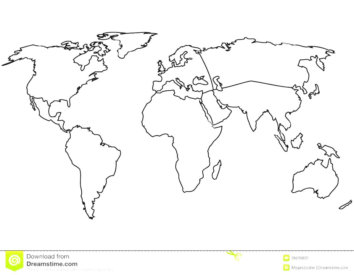 clipart world map outline 20 free Cliparts | Download ...