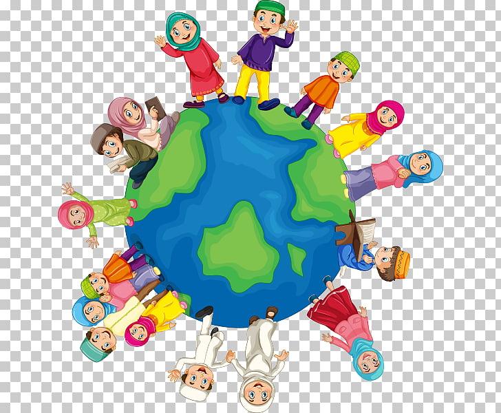 World religions World religions , Islam, people around the.