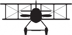 World War 1 Plane Clipart.