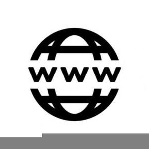 World Wide Web Clipart.