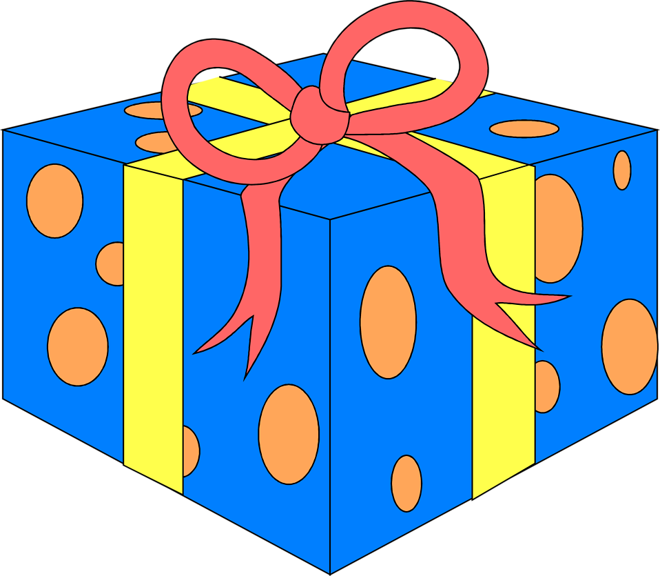 Free Wrapped Presents, Download Free Clip Art, Free Clip Art.