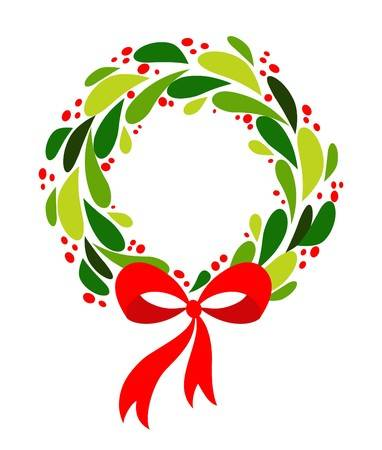 wreath clip art.