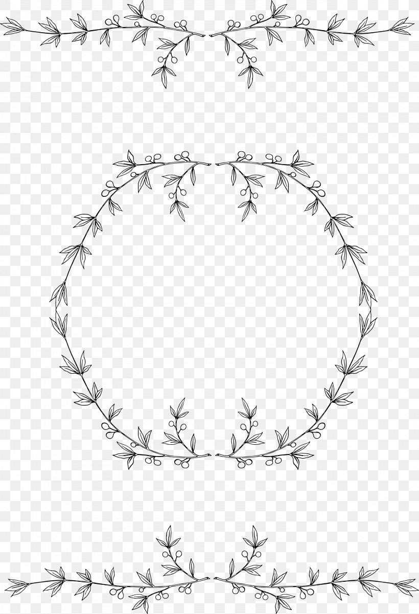 Borders And Frames Laurel Wreath Clip Art, PNG, 2959x4337px.