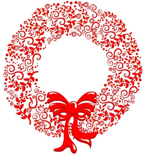 Christmas wreath clip art free vector download (210,737 Free.