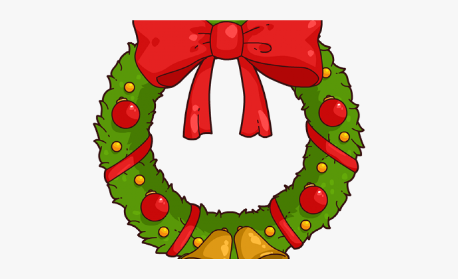 Wreath Clipart Cartoon.