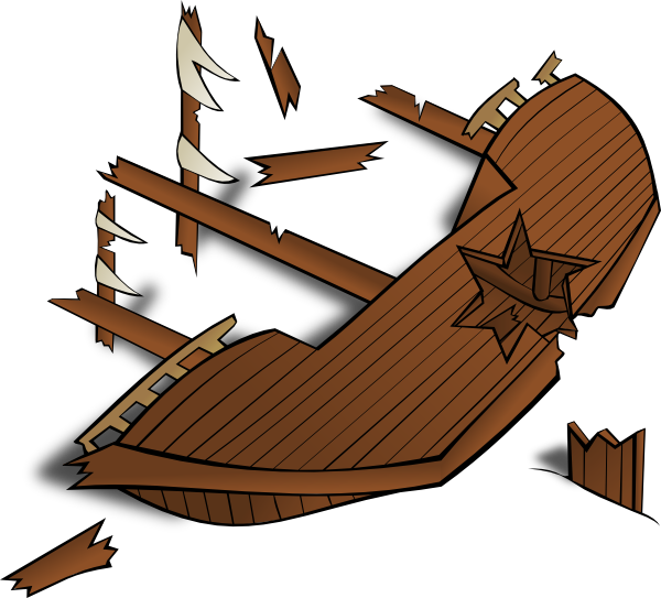 Shipwreck Clip Art at Clker.com.