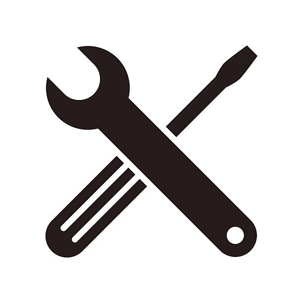 770 Wrench free clipart.