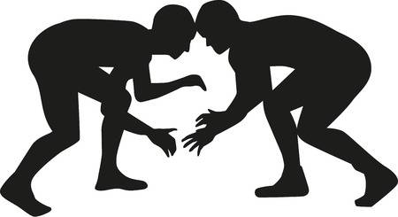 Clipart wrestlers 3 » Clipart Station.