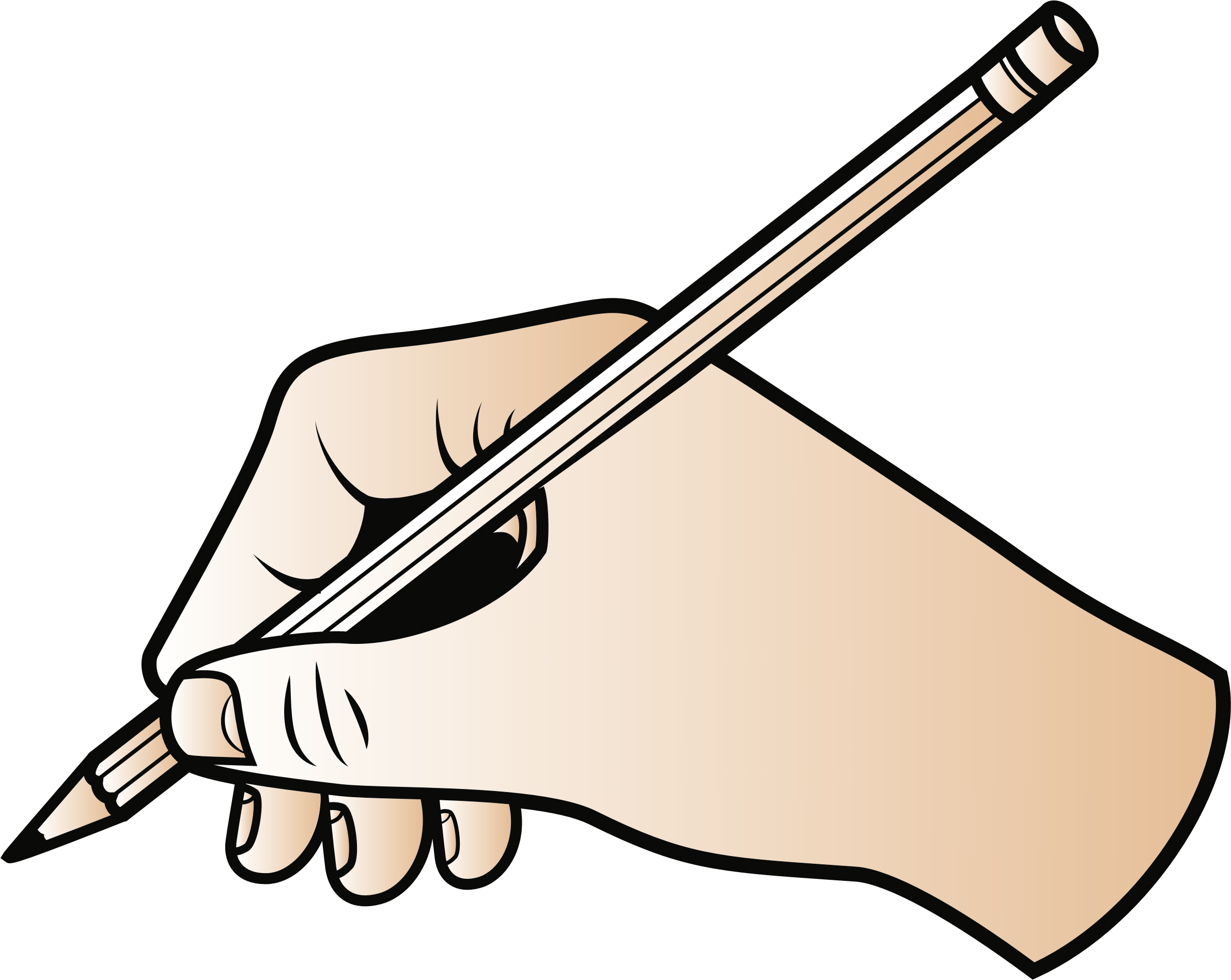 Clipart pencil write, Clipart pencil write Transparent FREE.