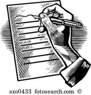 Writing letter clipart » Clipart Station.
