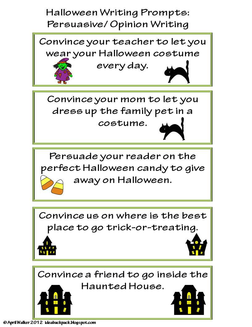 Clipart Writing Prompts.