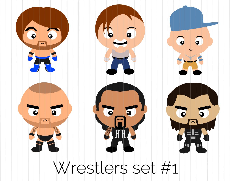 Wwe Wrestling Clipart.