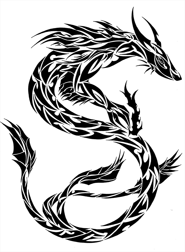 Chinese Dragon clipart.