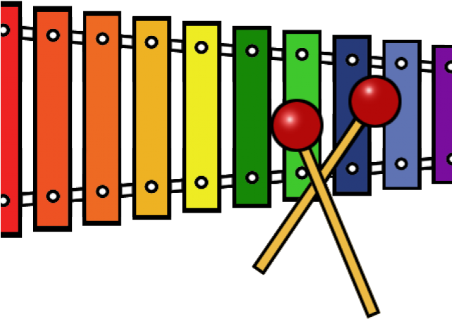Download HD Xylophone Clipart Transparent.