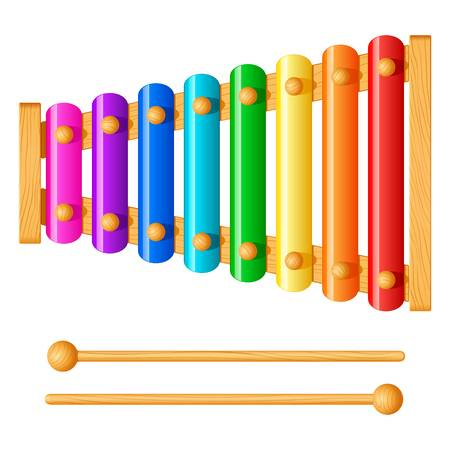 3,284 A Xylophone Stock Vector Illustration And Royalty Free A.
