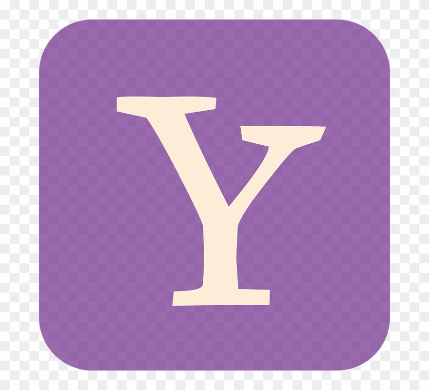 Yahoo, Yahoo Flat Icon, Yahoo.