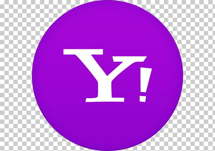 Area purple symbol brand violet, Yahoo, Yahoo Mail icon PNG.