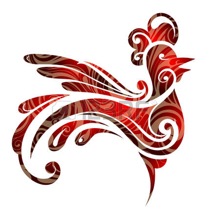 Clipart Year Of The Rooster.