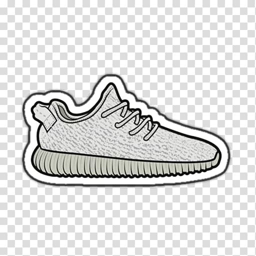 Adidas Yeezy Sneakers Drawing T.