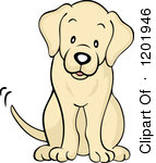 Yellow Lab Clipart.