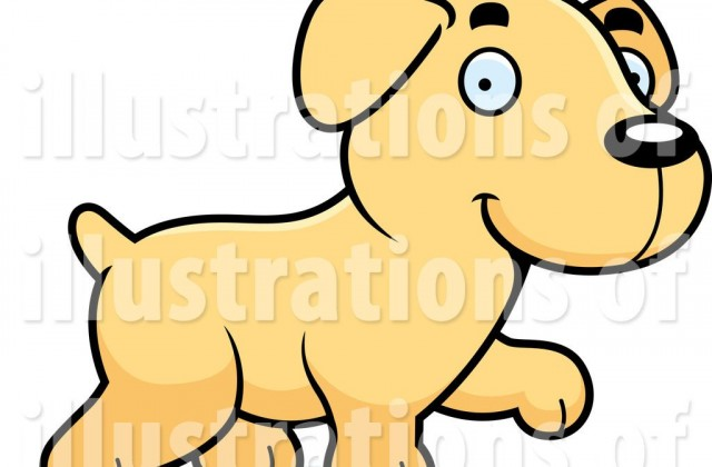 Tag For Yellow Lab Clip Art.