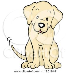 Yellow Labrador Valentine's Day Card £2.45.