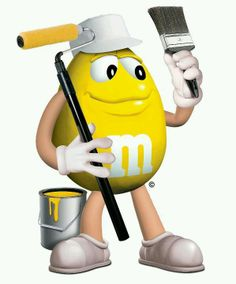 M&M Candy Posters.