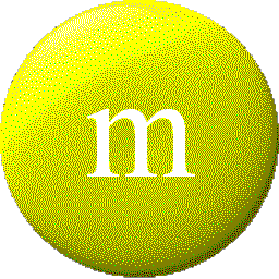Yellow M&M Icon.