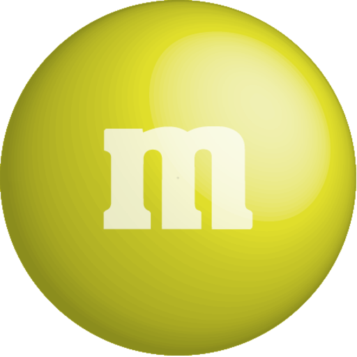colour, yellow, Color, Chocolate, m&m icon.