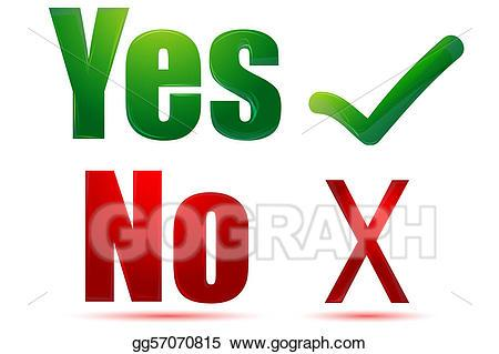 Yes and no clipart 6 » Clipart Portal.