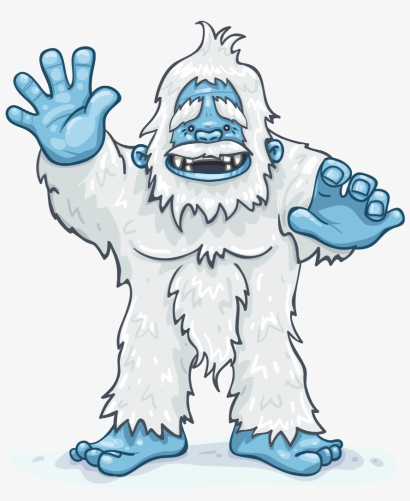 The Yeti Abominable Snowman.