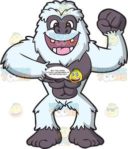 An Excited Strong Yeti.