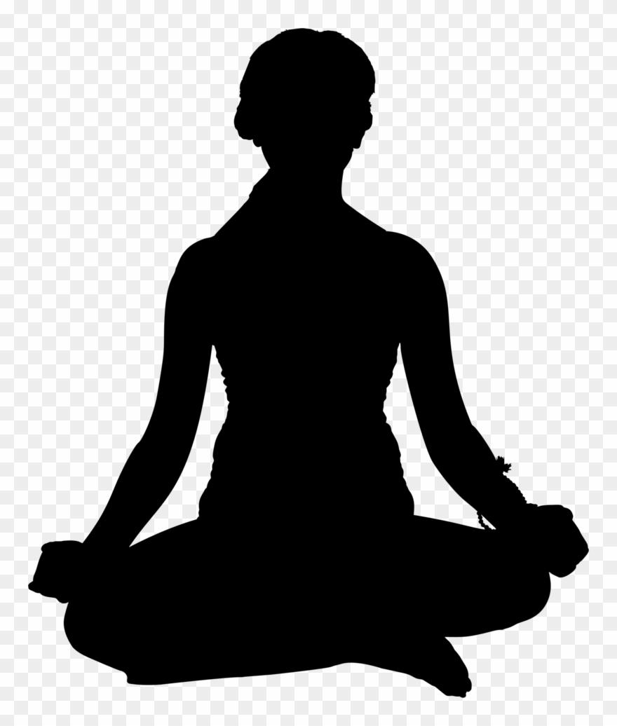 Yoga Pose Clip Art.