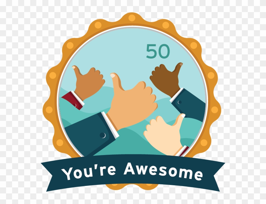 You're Awesome Clipart (#2295392).