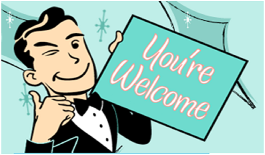 You\'re Welcome Clipart.