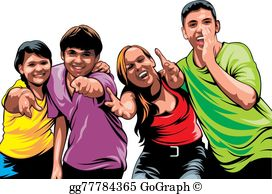 Young People Clip Art.
