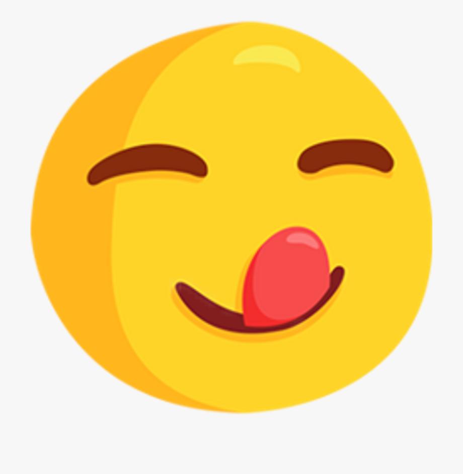 Messenger Emoji Taste Yummy Ijm Clipart , Png Download.