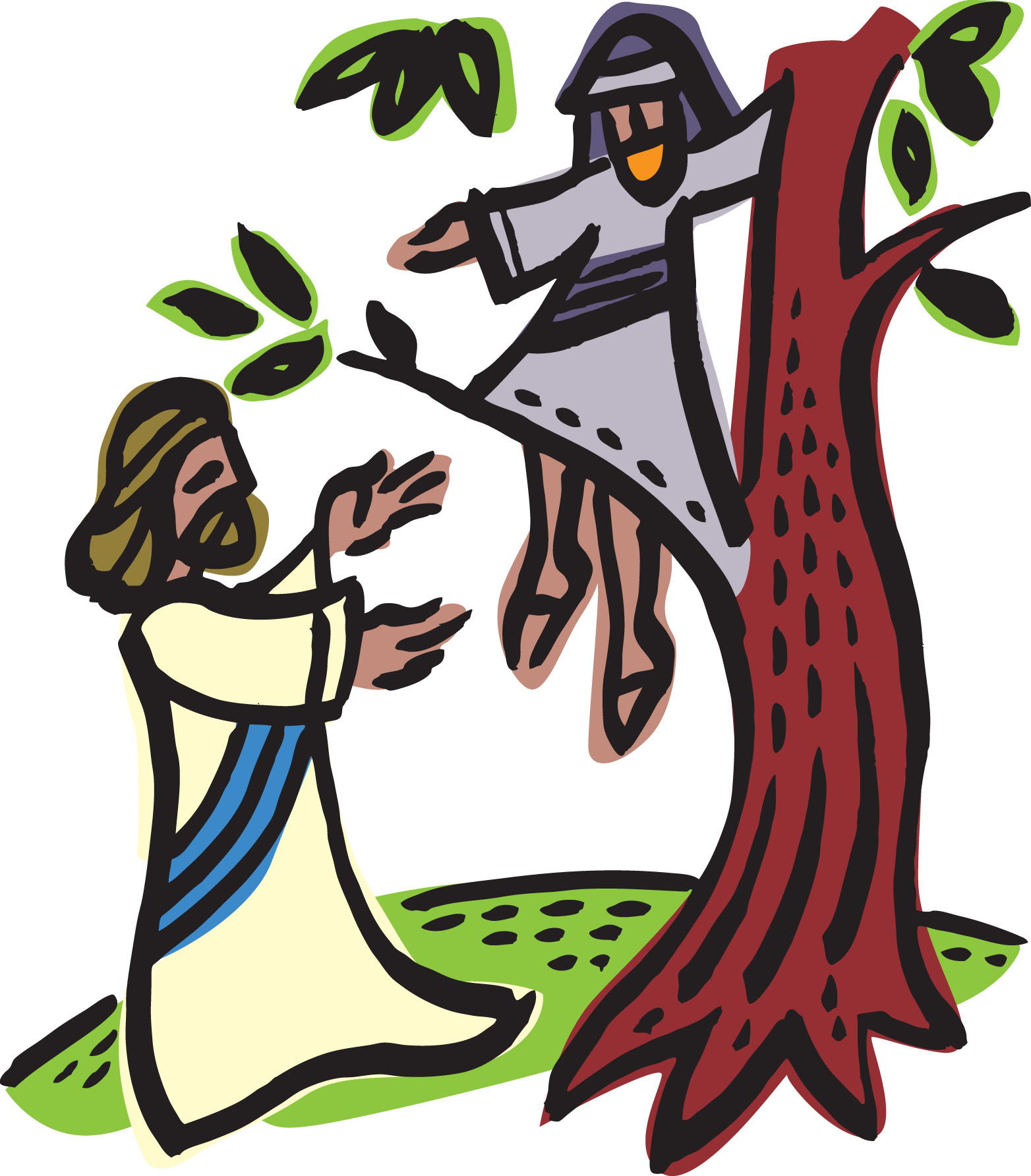 The best free Zacchaeus clipart images. Download from 12.