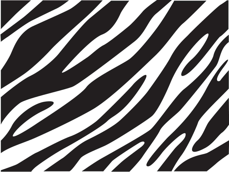 Zebra Print Clipart.