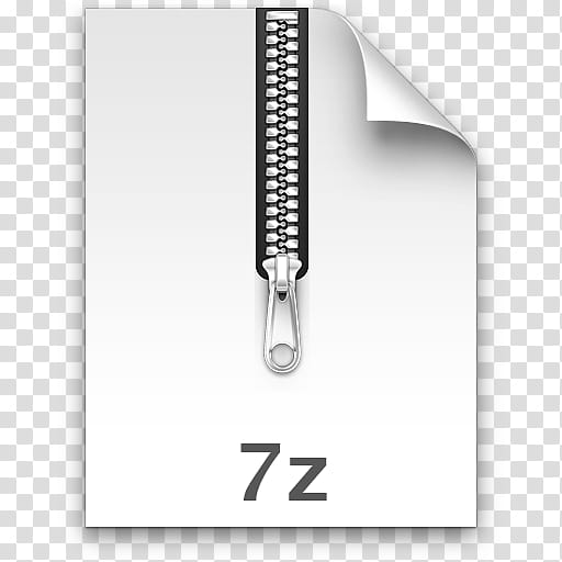 Leopard Archives, white zip file icon transparent background PNG.