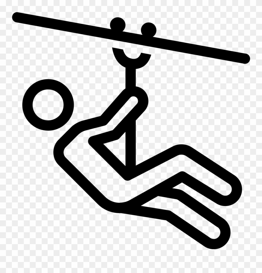 This Icon Depicts Ziplining.