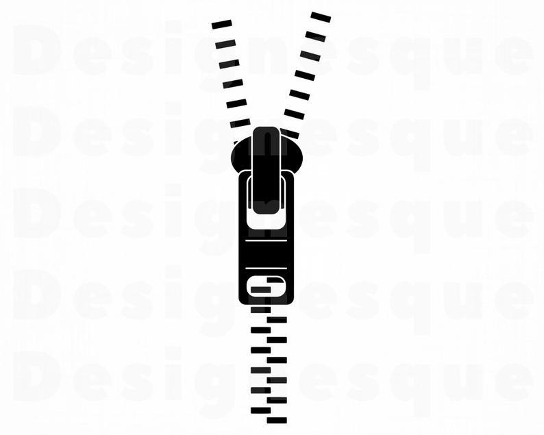 Zipper #6 SVG, Zipper SVG, Zipper Clipart, Zipper Files for Cricut, Zipper  Cut Files For Silhouette, Zipper Dxf, Zipper Png, Zipper Eps, Svg.