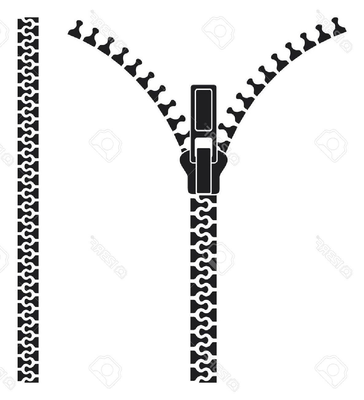 Zipper Clipart black and white 6.