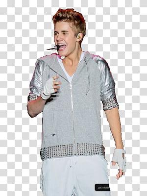 Justin Bieber en el Zocalo transparent background PNG.
