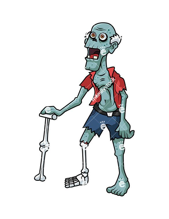 Old Man Zombie.