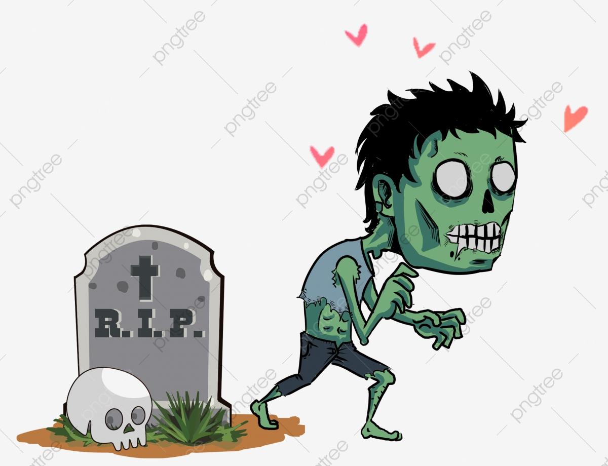 Cute Zombie, Cute Clipart, Zombie Clipart PNG Transparent Clipart.