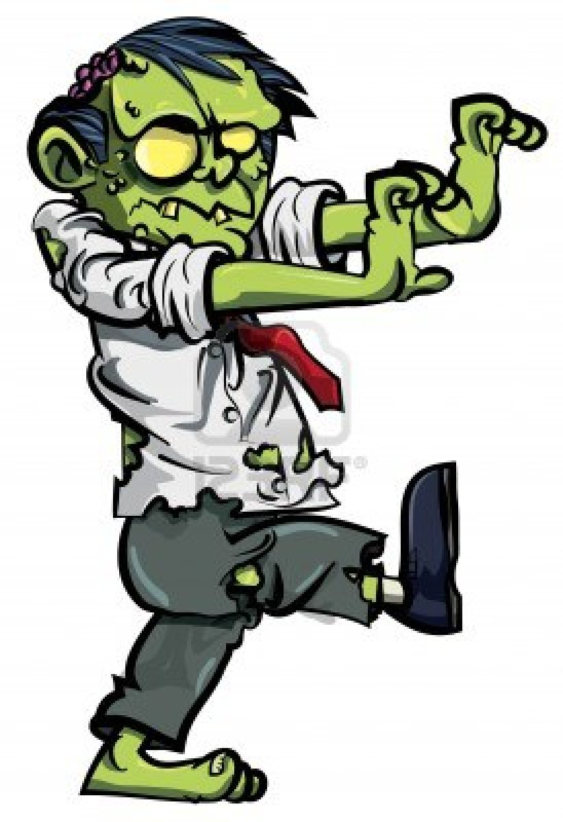 Real zombie clipart.