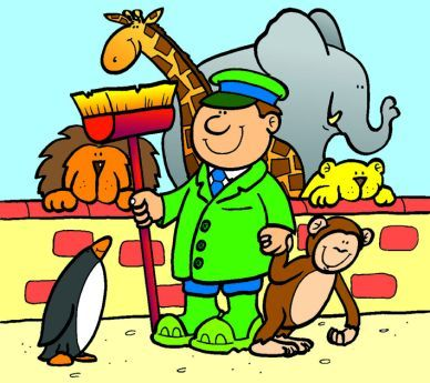 Zookeeper clipart 2 » Clipart Portal.